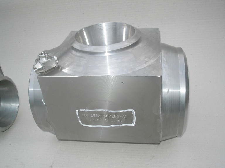 Manufacture of T-pieces, L-pieces, S-pieces, Y-pieces, reducers, and atypical flanges